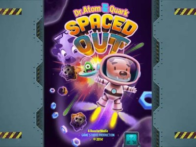 Atom & Quark Spaced Out Free Dog Game Online