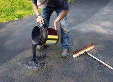 Driveway Sealant products can be toxic to dogs