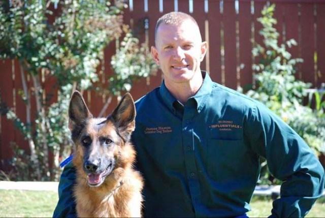 James Hamm dog trainer