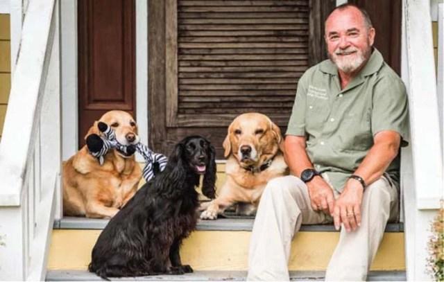 Martin Deeley dog trainer