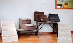 Picking out a good choice of dog stairs for your pooch