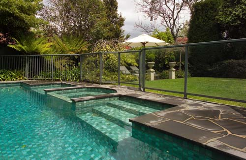 Fence off and Cover the Pool