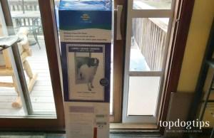 PetSafe Freedom Sliding Glass Pet Door
