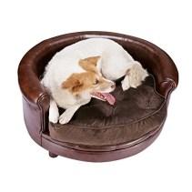 Villacera Deluxe Pet Bed Brown