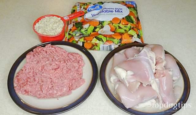 anti yeast dog food recipe