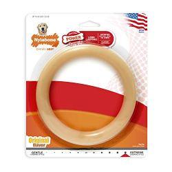 Nylabone Giant Flavored Ring Bone Dog Chew Toy