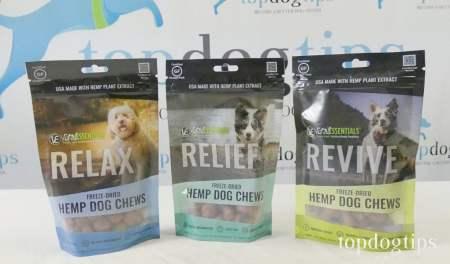 Vital Essentials hemp treats for dogs