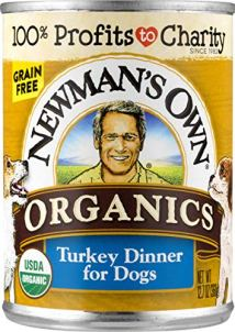Organics Turkey Dinner For Dogs by Newman's Own