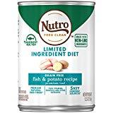 Nutro Limited Ingredient Fish and Potato Premium Loaf