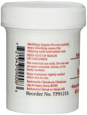 MediStyp Pet Styptic Powder with Benzocaine by Top Performance