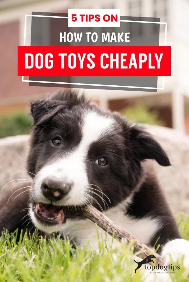 Make Dog Toys Cheaply