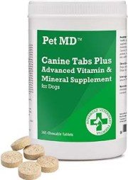 Pet MD Canine Tabs Plus
