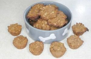 Molasses and Peanut Butter Dog Treats