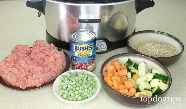 beef stew for dogs ingredients
