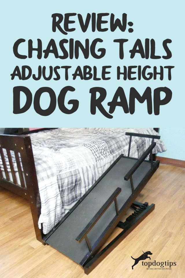 Review- Chasing Tails Adjustable Height Dog Ramp