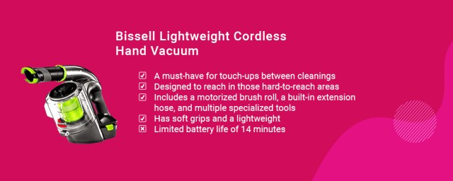 Bissell Lightweight Cordless Hand Vacuum