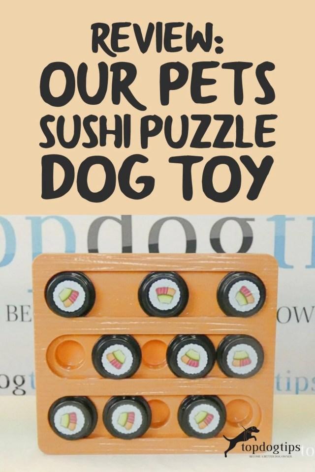 Sushi Puzzle Dog Toy