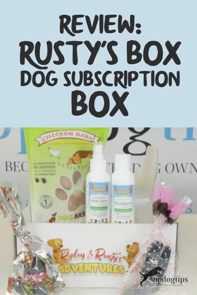 Rusty-s Box Dog Subscription