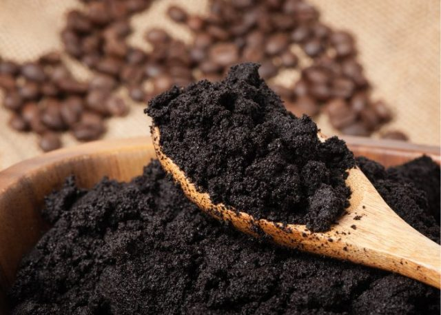 Natural Dog Repellent #6: Coffee Grounds