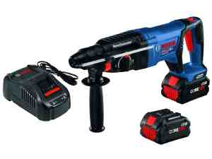18V EC Brushless SDS-plus® Bulldog™ 1 In. Rotary Hammer Kit with (2) CORE18V 8.0 Ah Performance Batteries