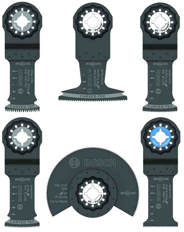 Starlock® Oscillating Multi-Tool Accessory Blade Set 6 pc.