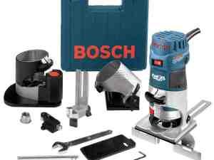 Bosch PR20EVSNK - 1 HP Colt™ Variable Speed Electronic Palm Router Installer's Kit