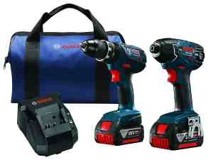 Bosch CLPK237A-181 18V Lithium-Ion Hammer Drill/Driver and Impact Driver Combo Kit