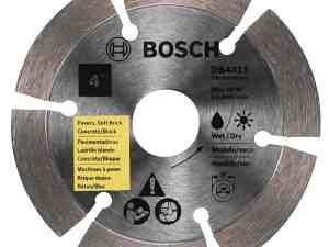 Bosch DB441S 4-Inch Segmented Rim Diamond Blade