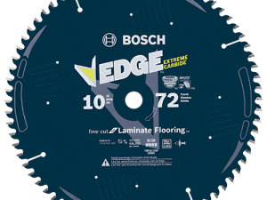 Bosch DCB1072 10 In. 72 Tooth Edge Circular Saw Blade for Laminate
