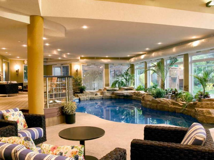 Impressive Indoor Swimming Pools That You Would Love To