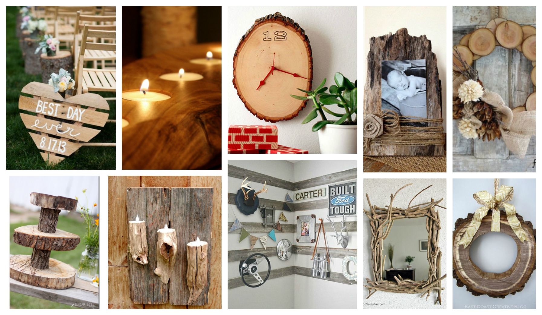 Stupendous DIY Rustic Wood Decor That Will Make You Say Wow