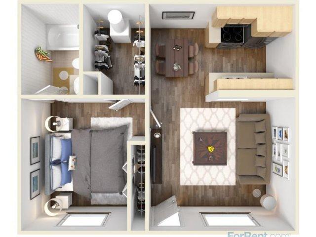 10 Dreamy Studio Apartment Floor Plans