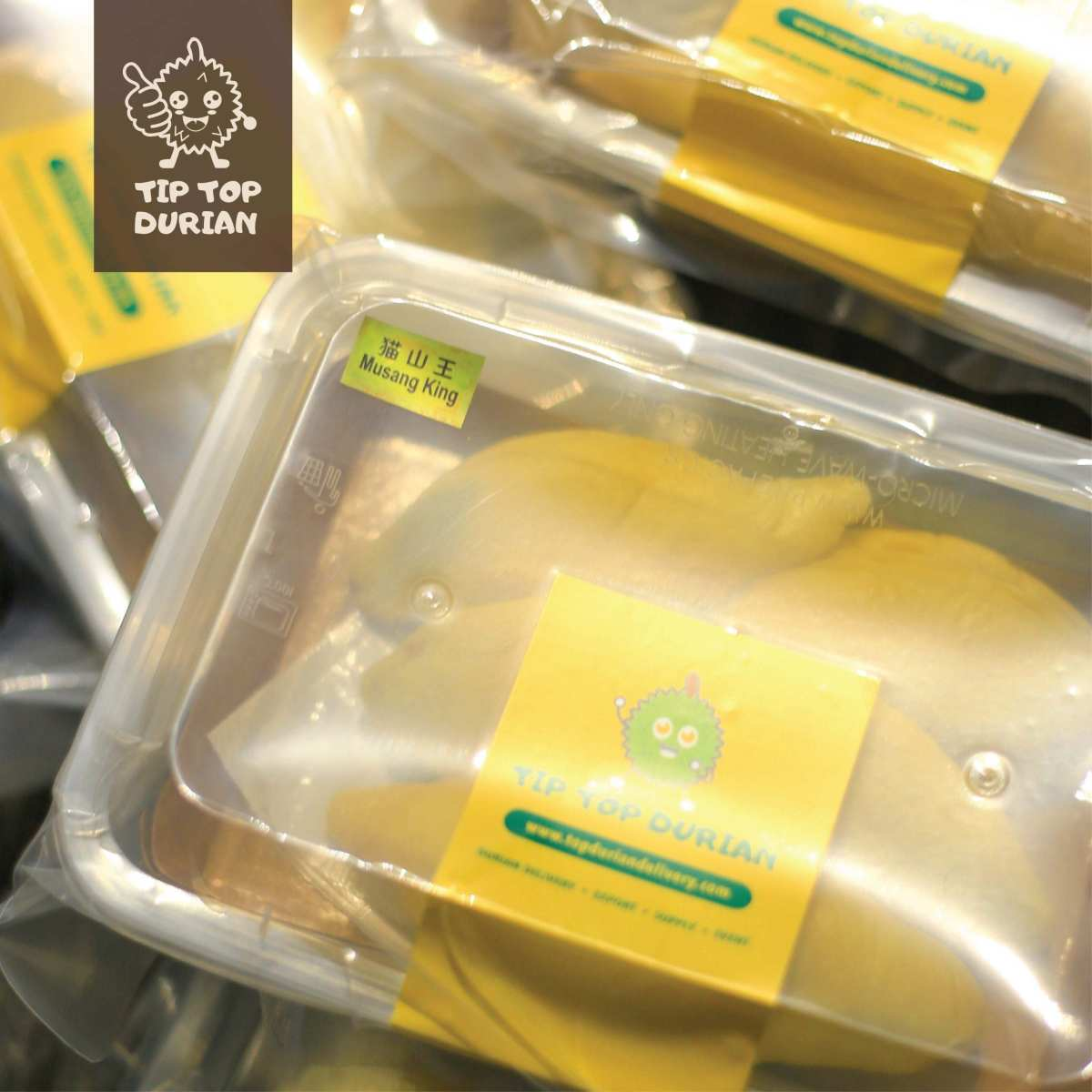 Musang King Premium In Packaging (2) | Tip Top Durian Delivery | Malaysia Top Fresh Durian Online Delivery