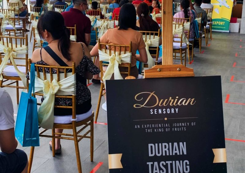 Durian Tasting Workshop | Gamuda Gardens Durian Sensory Event | Musang King | D24 | Fresh Durian | Durian Ice Cream | Durian Mochi | Durian Crepe Cake | Durian Cheesecake | Tip Top Durian Delivery | Malaysia Top Fresh Durian Online Delivery