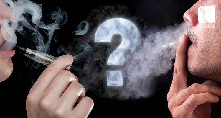 Electronic Cigarette Vapor Contents