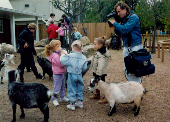 Children Zoo opened in 1992 and featured goats, sheep, and pot-bellied pigs: Wilbur and Waldo.