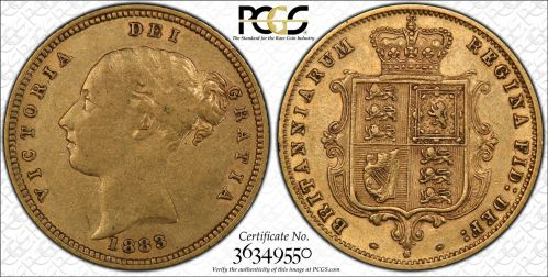 PCGS Graded Half Sovereigns