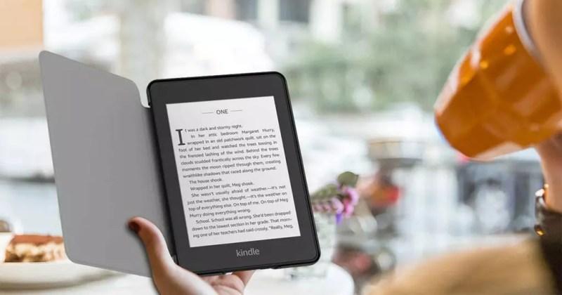Usare il tuo Kindle Paperwhite con una custodia
