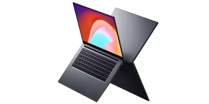 Design del laptop Xiaomi RedmiBook 16