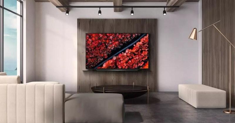 Smart TV LG C9 appeso