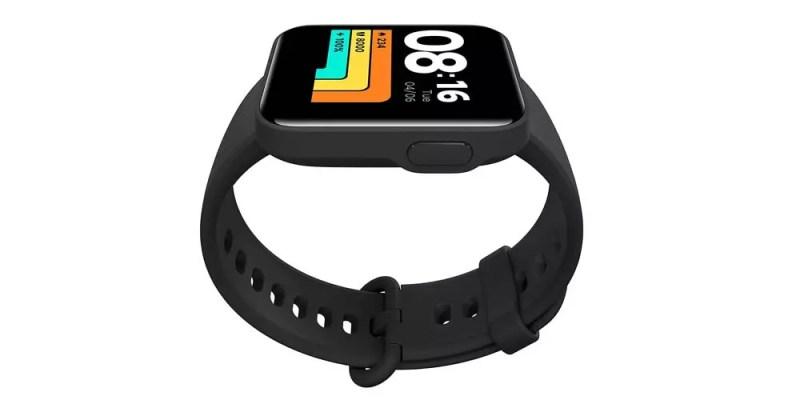 Lato dello smartwatch Xiaomi Mi Watch Lite