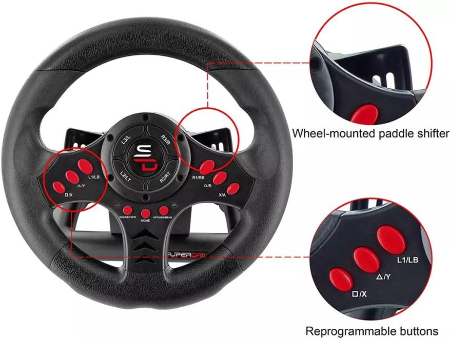 SV400 racing wheel