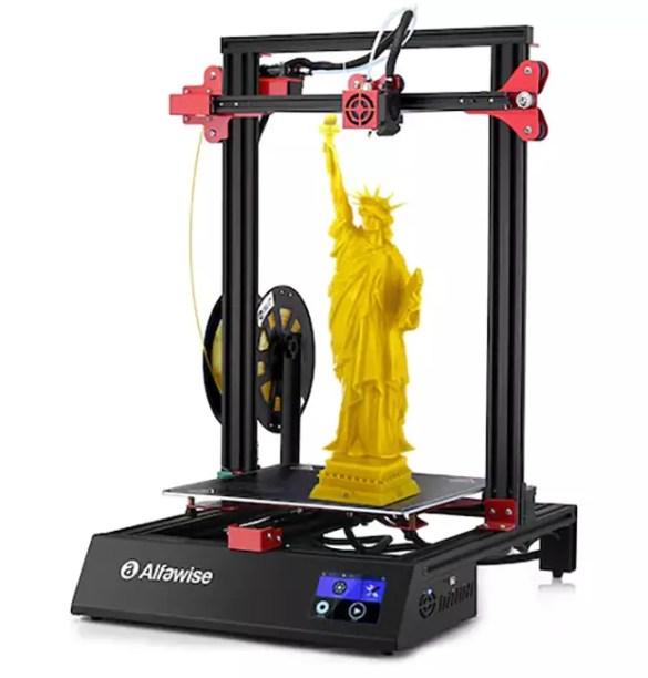 Stampante 3D Alfawise U20 ONE side