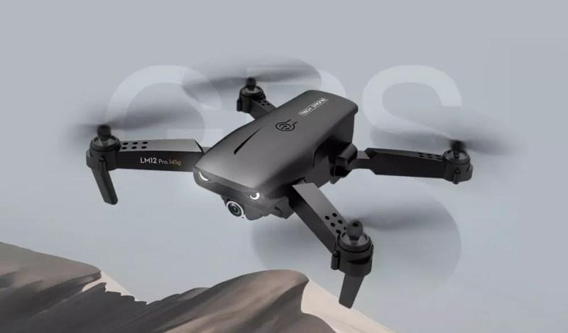 Drone Y535 in volo