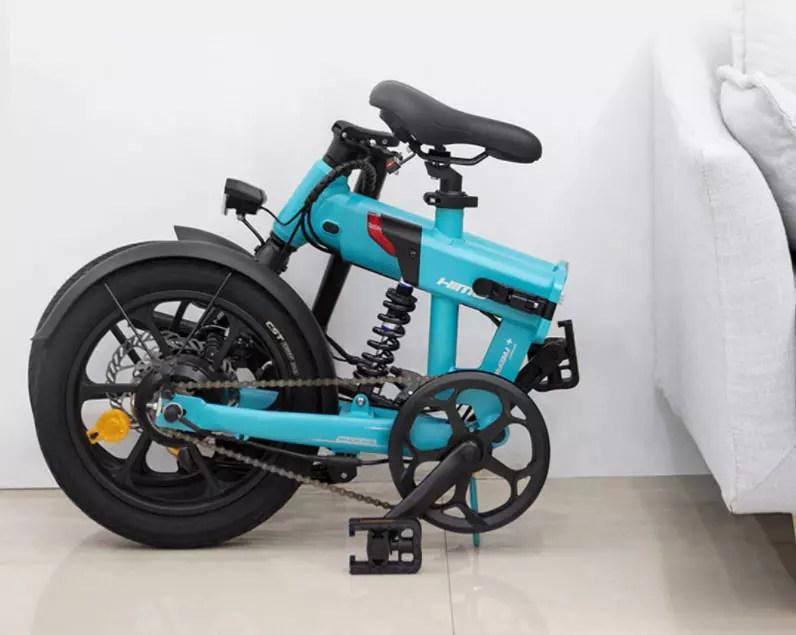 bici elettrica piegata himo z16