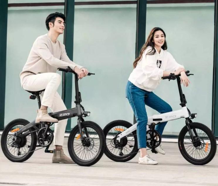 bici elettrica himo z20 colori