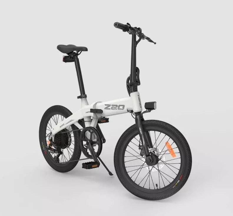 bici elettrica himo z20 anteriore