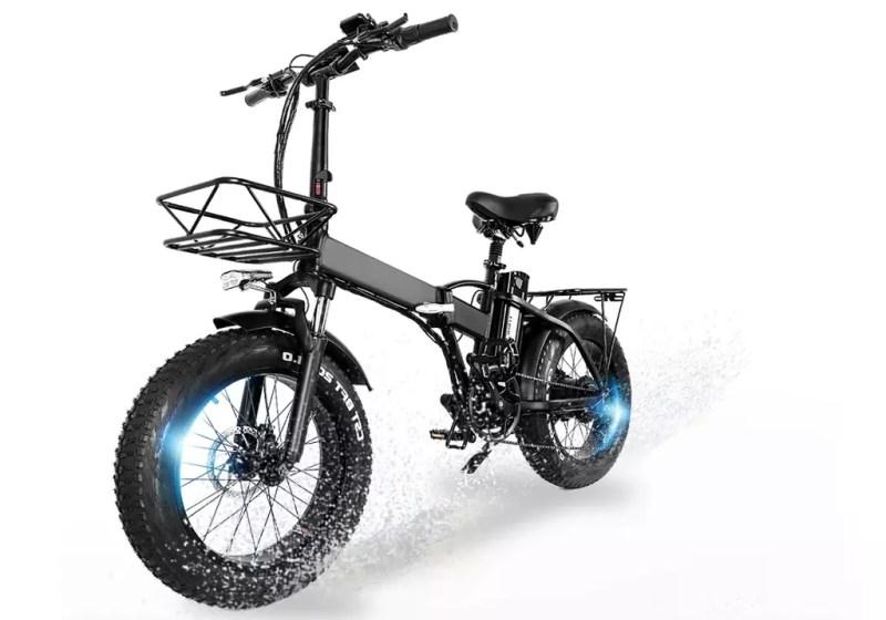 bici elettrica MCACEWHEEL GW20 laterale