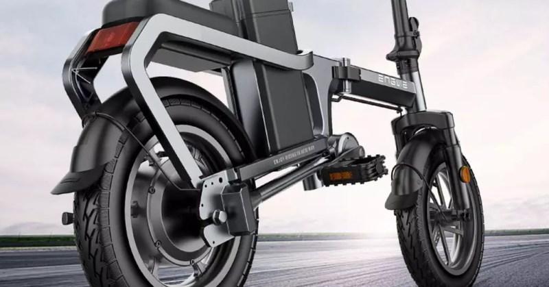 Design della bici elettrica ENGWE X5S