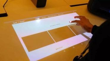 Uso del Sony Xperia Touch